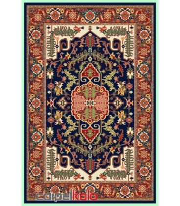 فرش قشقایی سرمه ای کد 6013