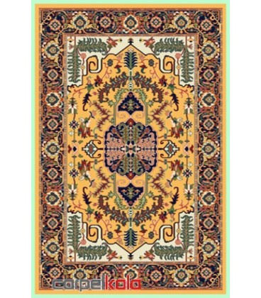 فرش قشقایی بژ کد 6013