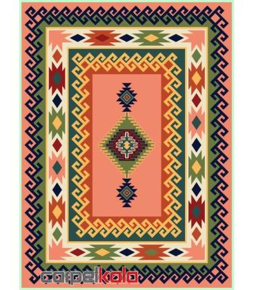 فرش قشقایی گلبهی کد 6016