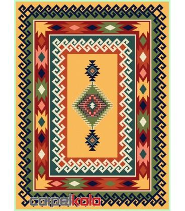 فرش قشقایی بژ کد 6016