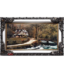 Rural cottage near the bridge