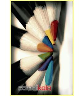 طرح مداد رنگی