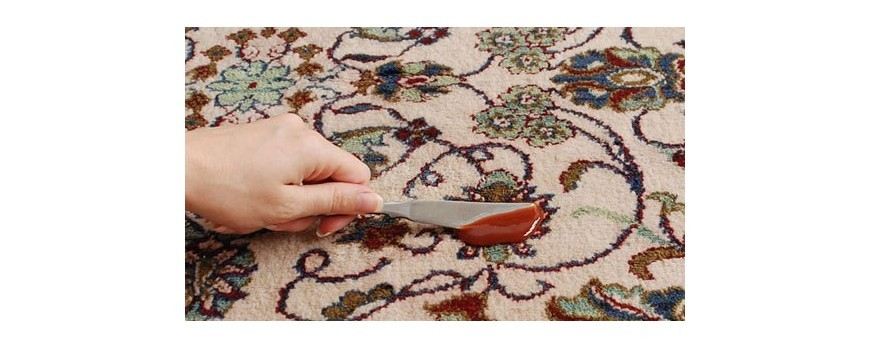 روش تمیز کردن انواع لکه از روی فرش و قالیچه